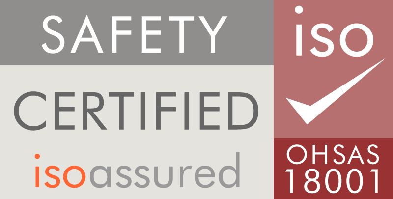 Safety certified isoassured OHSAS 18001